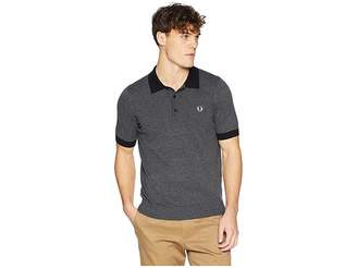 Fred Perry Contrast Trim Knitted Shirt