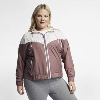 eeba6011273 Nike Cross Brand Women s Jacket (Plus Size Sportswear Windrunner