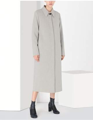 Maison Margiela Long Jersey Coat