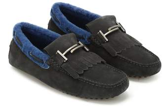 Tod's Gommino Driving Moccasin In Sheepskin