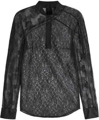 Christopher Kane Patchwork Lace Shirt