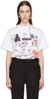 Ambush SSENSE Exclusive White Graphic T-Shirt