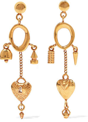 Chloé Gold-tone Earrings - one size