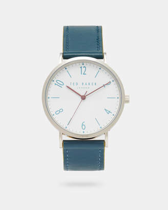 Ted Baker HANKT Leather strap watch
