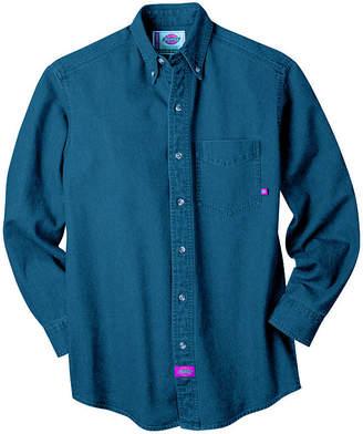 Dickies Long-Sleeve Denim Work Shirt
