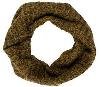 Alexander Wang Patterned Knit Infinity Scarf