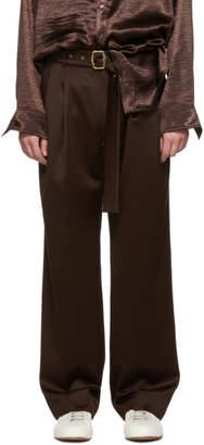 Sies Marjan Brown Wool Andy Trousers