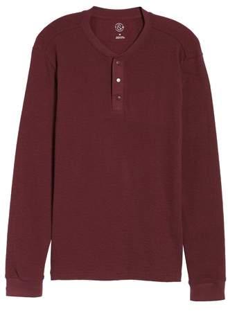 Canyon Long Sleeve Henley T-Shirt