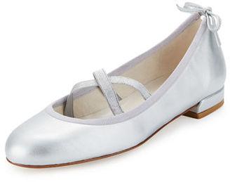 Stuart Weitzman Bolshoi Napa Ballerina Flat $375 thestylecure.com