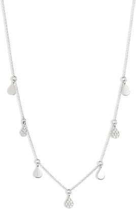 Dana Rebecca Designs Diamond and Disc Dangle Necklace
