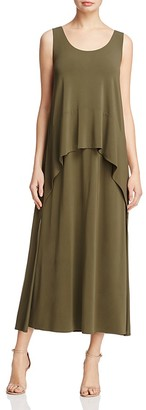 Lafayette 148 New York Layered-Look Dress $698 thestylecure.com