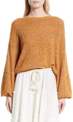 See by Chloe Merino Wool Blend Crewneck Sweater