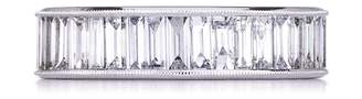 Couture Sethi Diamond Baguette Band Ring - White Gold