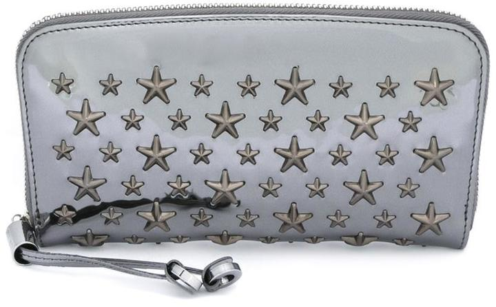 Jimmy Choo Jimmy Choo Pippa star stud continental wallet