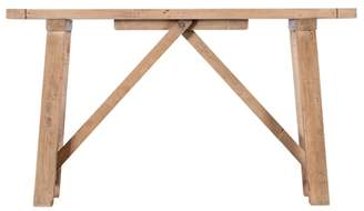 Debenhams Baker Furniture Reclaimed Wood 'Toscana' Console Table
