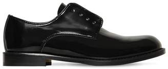 DSQUARED2 Laceless Polished Leather Derby Shoes