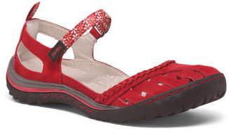 Leather Maryjane Sandals