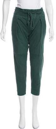 Tibi Suede Cropped Pants w/ Tags