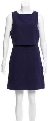 Reiss Sleeveless Textured Dress