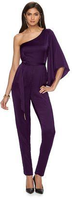 Women's Jennifer Lopez Asymmetrical Jumpsuit $70 thestylecure.com