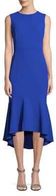 Calvin Klein Sleeveless Ruffle-Hem Midi Dress
