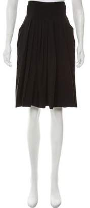 Kaufman Franco KAUFMANFRANCO Pleated Knee-Length Skirt