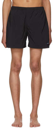 Noah NYC Black Swim Shorts