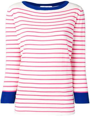 Blugirl striped knitted sweatshirt