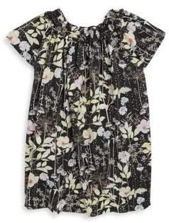 Bonpoint Toddler's, Little Girl's& Girl's Floral-Print Cotton Dress