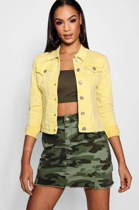 boohoo Cotton Twill Jacket