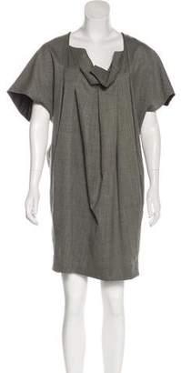 United Bamboo Wool Knee-Length Dress