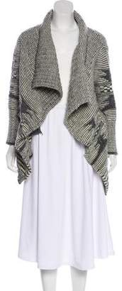 Yigal Azrouel Patterned Knit Cardigan