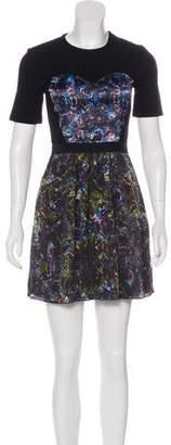 Markus Lupfer Printed Mini Dress