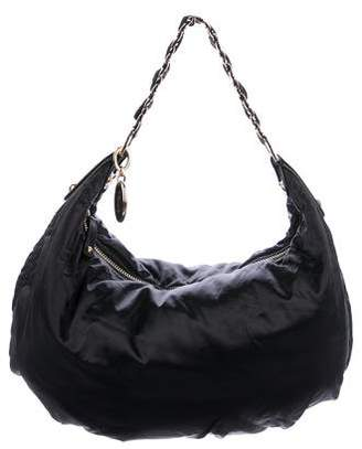 Tod's Pashmy Chain-Link Hobo