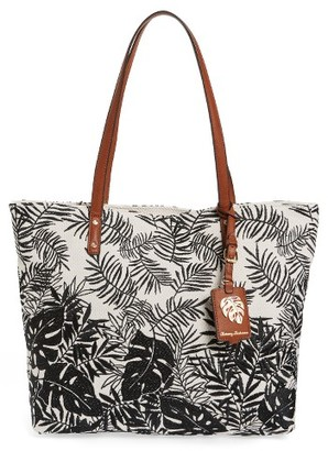 Tommy Bahama Palm Beach Tote - Black $128 thestylecure.com