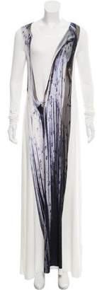 MM6 MAISON MARGIELA Digital Print Maxi Dress w/ Tags
