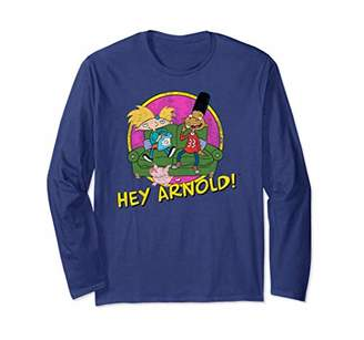 Nickelodeon Hey Arnold! and friends Long Sleeve T-shirt