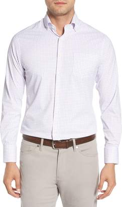 Peter Millar Captain Performance Tattersall Sport Shirt