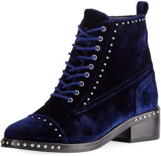 Marc Fisher Cassidey Studded Velvet Boots