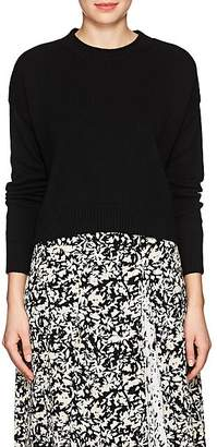 Barneys New York Women's Cashmere Crop Sweater - Black