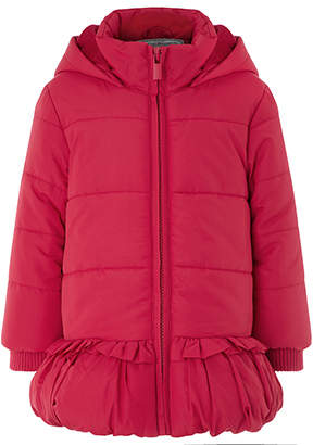 Monsoon Baby Bella Bobble Red Coat