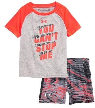 Under Armour You Can't Stop Me HeatGear(R) Shirt & Shorts Set