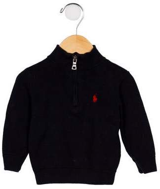Ralph Lauren Boys' Knit Zip Front Sweater