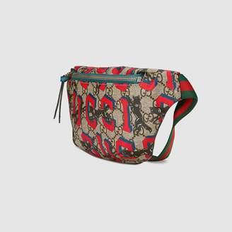 Gucci Children's GG wolves belt bag