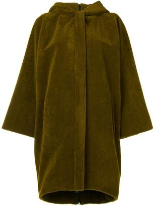 Gianluca Capannolo hooded single-breasted coat