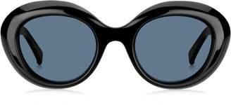 Max Mara oval frame sunglasses