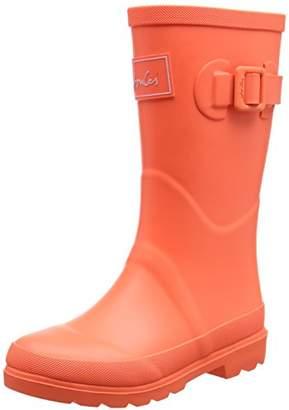 Joules Girls' Field Welly Rain Shoe