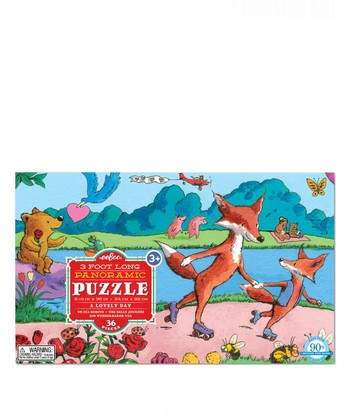 eeBoo A Lovely Day 36-Piece Puzzle