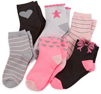 Okie Dokie 6 Pair Low Cut Socks