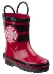 Rugged Bear's Every Step Fireman Rain Boots